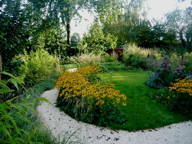 Langer Garten Gestalten langer schmaler reihenhausgarten bilder und beispiel zur gestaltung