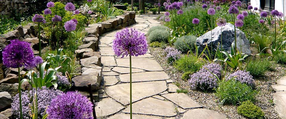 Kleiner schmaler Garten - Bilder und Beispiele zur Gartengestaltung